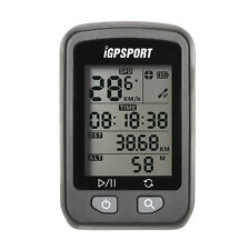IGPSPORT Cycle GPS Speedometer Bicycle Bike Computer USB Recharge With Bracket