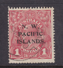 N.W.P.I. :  1d  RED?  KGV  SINGLE  WMK  SG:103   USED