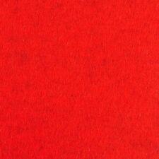 Glas Untersetzer 10 x 10 cm Farbe tomate rot meliert 100 % Merino Filz 3 mm %%%