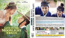 DVD Korean Drama: Love In The moonlight (Vol.1-18 End) English SUB