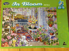 JIGSAW PUZZLE 'In Bloom, Wild Roses' 1000 Pieces 688mm x 493mm - Holdson - 2014
