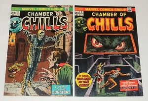 Marvel Comics CHAMBER of CHILLS #8 & #9   Both Super High Grade VF/NM