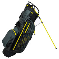 OUUL AQUA 100% Waterproof Trendy Stand Bag in Black/Yellow Brand New *Sale*