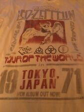 Led Zeppelin  Official Shirt Size Large