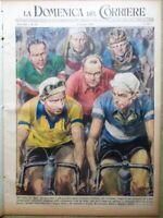 La Domenica del Corriere 4 Giugno 1950 Cavarzere Cenerentola Disney Coppi Giro