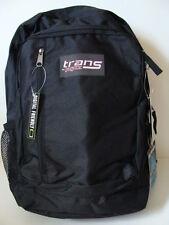 NWT JANSPORT Boys Trans MegaHertz II Backpack Black Laptop Book Girls School Bag