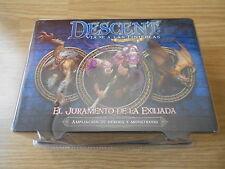 juego de mesa - El Juramento de la Exiliada - expansión Descent 2ª ed. - EDGE FF