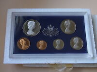Australia.  1971 PROOF SET.  With Certificate & foams