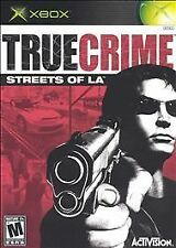 True Crime: Streets of L.A. (Microsoft Xbox, 2003)  Platinum HIts  COMPLETE  !!