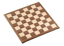 "15"" Walnut Veneer Wooden Chess Board 1 1/2"" Square New"