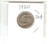 Offer>Singapore 20 cents 1980  Fish coin  lustre/high grade! ??