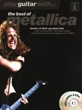 Play Guitar With Best Of Metallica Learn to Play Heavy Metal TAB Music Book