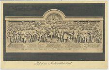 AK Relief am Niederwalddenkmal  (7509)