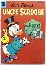 "UNCLE SCROOGE #32 VF- Silver Age Comic 1960 ~ ""That's No Fable"" CARL BARKS"