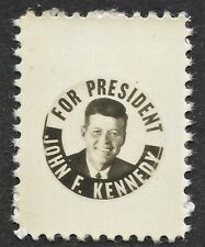 John Kennedy for President - Campaign Stamp - Real Photo