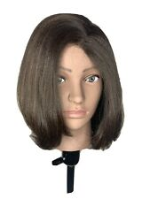 Shake And Go Synthetic Bob Wig Iron Safe Brown/w Highlights