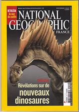 National Geographic France N°99 decembre 2007  Nouveaux dinosaures ,Bethléem