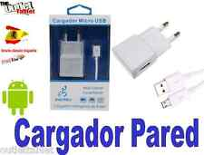 CARGADOR PARED cable MICROUSB para SMARTPHONE HTC ONE M9 (V8)
