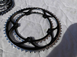 """NEW MICHE SUPERTYPE chainring 53t 39t 3/32"""" 7 8 9 7075 zicral campagnolo 135BCD"""