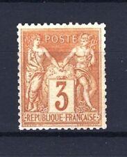 "FRANCE STAMP TIMBRE N° 86 "" SAGE 3c BISTRE SUR JAUNE "" NEUF xx TB  R673"