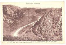 CPA 22 - GOUAREC (Côte d'Armor) - A. W. 3921. Les Gorges Sauvages du LONGEAU