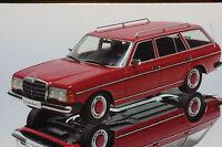 Mercedes 250 T S123 rot 1980 1:18 KK-Scale neu & OVP 180092