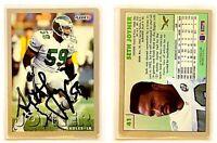 Seth Joyner Signed 1993 Fleer #41 Card Philadelphia Eagles Auto Autograph
