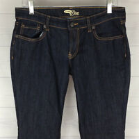 Old Navy The Diva Womens Size 8 Short Stretch Solid Dark Wash Bootcut Jeans