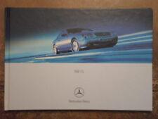 MERCEDES BENZ CL COUPES 2000 UK Mkt HARDBACK Sales Brochure - CL500 CL600 V12