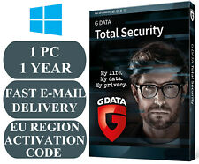 G Data Total Security 1 PC / 1 Year EU&UK Activation Code 2020 E-MAIL ONLY