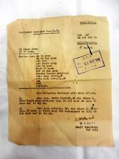 jewish judaica ww2 palestine british mandate ninth army postings 1944 Chaplain #