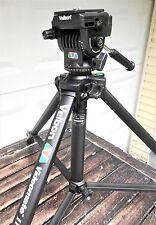 Velbon Videomate III Video Tripod W/ Mini Pro Vel-Flo 9 PH-368 Fluid Head