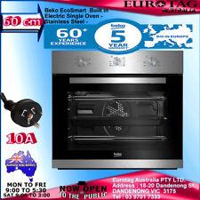 NEW Beko 66LT 5 Function Electric Builtin Fan Single Oven S.Steel 5 YEARS W