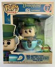 Disney MAD HATTER Tea Party Cup Ride Large Funko Pop Vinyl #87 *NEW*