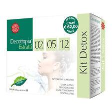 Tisanoreica Cofanetto Kit Detox Estratto 02 05 12 da 500 ml Depurativo