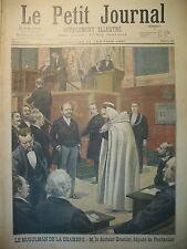 CHAMBRE DéPUTé MUSULMAN DOCTEUR GRENIER PONTARLIER DOUBS LE PETIT JOURNAL 1897