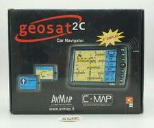 AVMAP Navigatore satellitare DA AUTO Geosat 2C  USATO GPS DA VERIFICARE!!!
