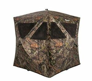 Ameristep Care Taker Kick Out Pop-Up Ground Blind Premium Hunting Blind Mossy...