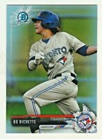 2017 Bowman Chrome Prospects REFRACTOR #BCP142 BO BICHETTE RC Rookie 22/499