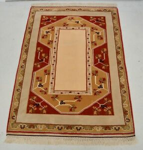Large Antique Style Hand Made Wool Turkish Style Rug