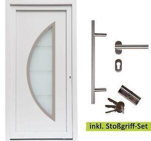 kuporta Kunststoff Haustür Ramos 2 weiß Eingangstür Nebeneingangstür Außentür