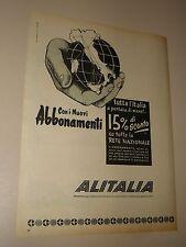 ALITALIA=ANNI '50=PUBBLICITA=ADVERTISING=WERBUNG=621