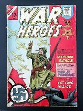 WAR HEROES #18 CHARLTON COMICS 1966 FN-