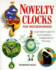 Novelty Clocks for Woodworkers-ExLibrary