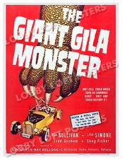 THE GIANT GILA MONSTER LOBBY CARD POSTER OS 1959 DON SULLIVAN LISA SIMONE