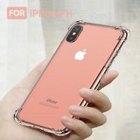 Crystal Clear Shock Proof Soft Silicone Gel Bumper Cover For iPhone 6 6S PLUS