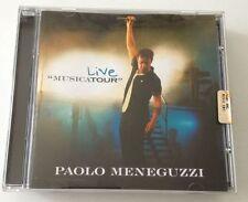 PAOLO MENEGUZZI MUSICA TOUR LIVE CD ALBUM 2007 OTTIMO SPED GRATIS SU + ACQUISTI