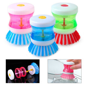 Palm Wash Brush Scrubber Cleaner Cleaning Tool Pan Pot Dish Bowl Kitchen cr