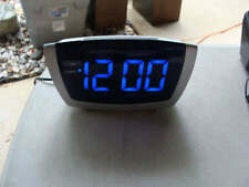 Equity 75904 Jumbo Blue LED Digital Alarm Clocks