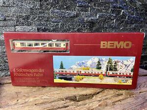 BEMO - H0e H0m M - 1:87 - 7272 114 - 'Rhaetian Railway' Pullman - 4 Car Set